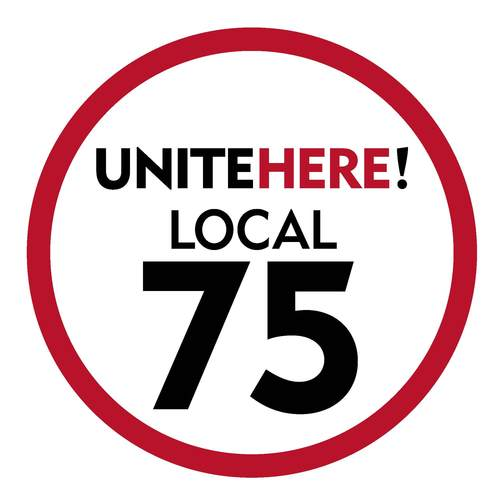 logo for Unite Here Local 75